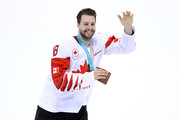 Bronze medal winner Marc-Andre Gragnani #18 of Canada celebrates after defeating Czech Republic 6-4 during the Men's Bronze Medal Game on day fifteen of the PyeongChang 2018 Winter Olympic Games at Gangneung Hockey Centre on February 24, 2018 in Gangneung, South Korea.