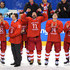 Nikolai Prokhorkin Photos - Ilya Kovalchuk #71 of Olympic Athlete from Russia celebrates with teammates during the medal ceremony after defeating Germany 4-3 in overtime Men's Gold Medal Game on day sixteen of the PyeongChang 2018 Winter Olympic Games at Gangneung Hockey Centre on February 25, 2018 in Gangneung, South Korea. - Ice Hockey - Winter Olympics Day 16