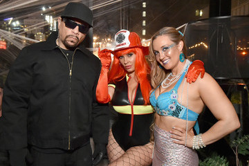 Ice-T Heidi Klum's 18th Annual Halloween Party - Inside