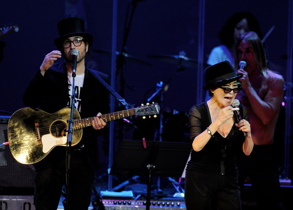 """Yoko Ono Performs """"We Are Plastic Ono Band"""" At The Orpheum Theater - Night 1"""