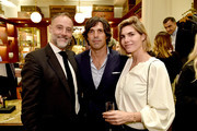 Frederic Pignault, Nacho Figueras, Delfina Blaquier attend the Ignacio Figueras Fragrance Collection Launch Celebration at Bergdorf Goodman in NYC with creator, entrepreneur, and world renowned polo player Nacho Figueras on December 11, 2019 in New York City.