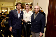 Nacho Figueras, Delfina Blaquier, and Nicholas Bograd attend the Ignacio Figueras Fragrance Collection Launch Celebration at Bergdorf Goodman in NYC with creator, entrepreneur, and world renowned polo player Nacho Figueras on December 11, 2019 in New York City.