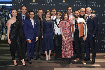 "Ignacio Serricchio Mina Sundwall Netflix And Legendary Entertainment Host A Special Screening Of ""Lost in Space"" Season 2 In Washington, D.C."
