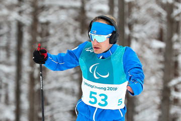 Iikka Tuomisto 2018 Paralympic Winter Games - Previews: Day 0