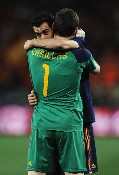 48c7a23d54f Iker Casillas and Sergio Busquets Photos»Photostream · Pictures ·  Netherlands v Spain  2010 FIFA World Cup Final