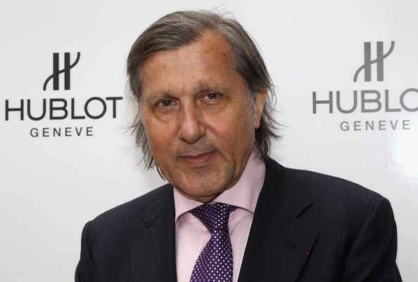 The 70-year old son of father (?) and mother(?), 182 cm tall Ilie Nastase in 2017 photo