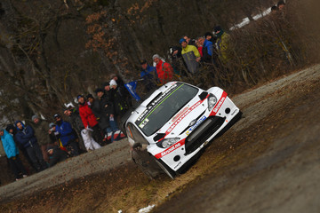 Ilka Minor FIA World Rally Championship Monte-Carlo: Day 2