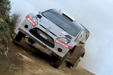 Ilka Minor FIA World Rally Championship: Day 1