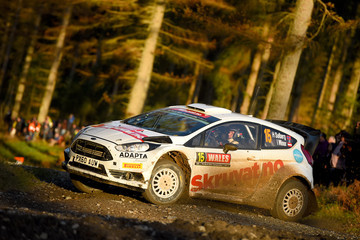 Ilka Minor FIA World Rally Championship Great Britain - Day Two