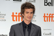 """Actor Andrew Garfield attends the """"The Imaginarium of Doctor Parnassus"""" premiere held at Roy Thomson Hall during the 2009 Toronto International Film Festival on September 18, 2009 in Toronto, Canada."""