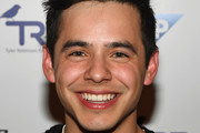 Singer David Archuleta attends the third annual Tyler Robinson Foundation gala benefiting families affected by pediatric cancer at Caesars Palace on September 30, 2016 in Las Vegas, Nevada.