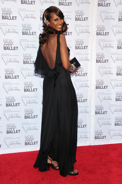 Iman - 2012 New York City Ballet Fall Gala