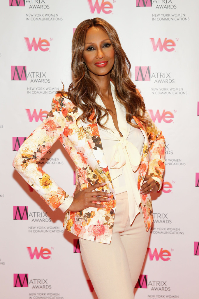 Iman - Arrivals at the Matrix Awards