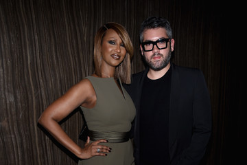 Iman Brian Maxwell Harper's BAZAAR 150th Anniversary Event Presented With Tiffany & Co at The Rainbow Room - Inside