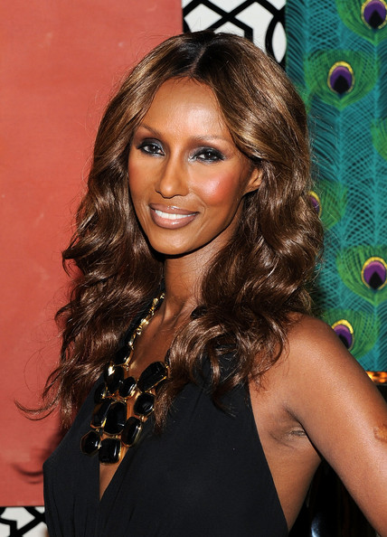 iman launches iman home collection at mbfw spring 2011   zimbio
