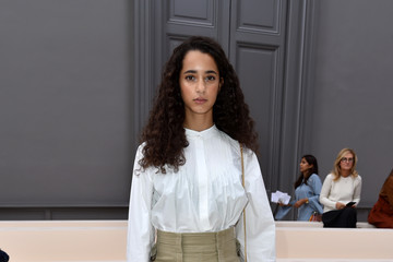 Iman Perez Chloe : Front Row - Paris Fashion Week Womenswear Spring/Summer 2017