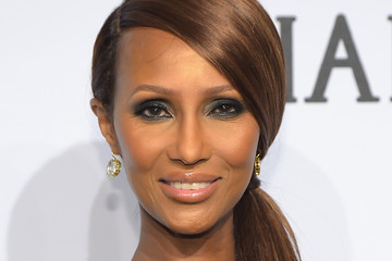 Iman 2015 amfAR New York Gala - Arrivals