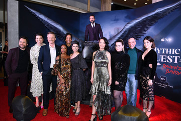 """Imani Hakim David Hornsby Premiere Of Apple TV+'s """"Mythic Quest: Raven's Banquet"""" - Red Carpet"""