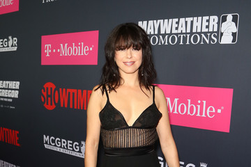Imelda May SHOWTIME, WME|IMG, and MAYWEATHER PROMOTIONS VIP Pre-Fight Party Arrivals on the T-Mobile Magenta Carpet for Mayweather VS McGregor