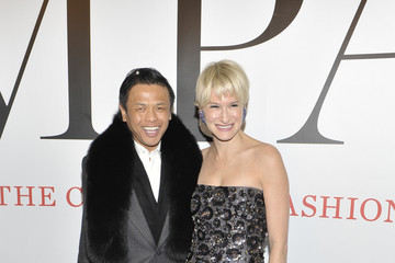 """Zang Toi Julie Macklowe """"Impact: 50 Years of the CFDA"""" Exhibition Opening Night Gala - Arrivals"""