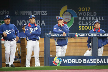 In Sik Kim World Baseball Classic - Pool A - Game 3 - South Korea v Netherlands