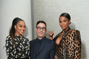 (L-R)  LaLa Anthony, Jason Weinberg and Ciara attend the InStyle Dinner to Celebrate the April Issue Hosted By Cover Star Ciara and Laura Brown on March 13, 2019 in New York City.