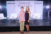 InStyle's Fashion Features Director, Laurel Pantin and Longines Ambassador of Elegance, Mikaela Shiffrin attend the InStyle Talks: Power Players presented by Longines & launch of Longines Conquest Classic Collection on June 05, 2019 in New York City.