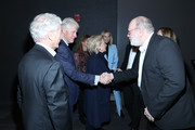 """Bill Clinton and Yaron Zilberman attend a special screening of """"Incitement"""" at The Landmark at 57 West on February 01, 2020 in New York City."""
