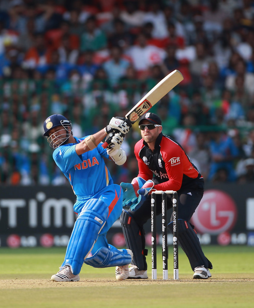 India v England: Group B - 2011 ICC World Cup - Zimbio Sachin Tendulkar Wallpapers In World Cup 2011