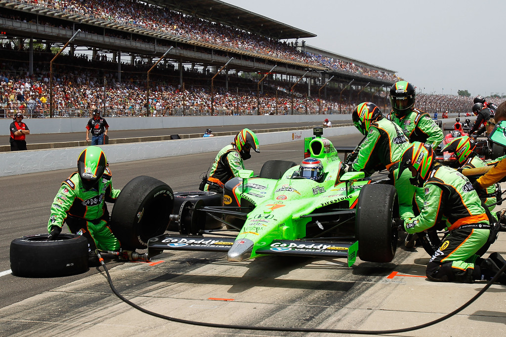 When Did Danica Patrick Start Racing Indy Cars