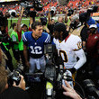 Andrew Luck and Robert Griffin III Photos