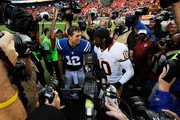 Andrew Luck and Robert Griffin III Photos Photo