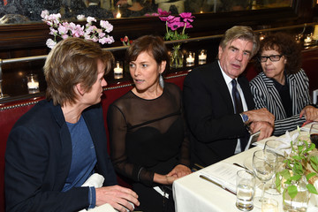 Ingrid Sischy 2015 Tribeca Film Festival CHANEL Artists Dinner, At Balthazar