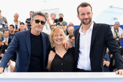"(L-R) Director Pawel Pawlikowski, actress Joanna Kulig and actor Tomasz Kot attend the photocall for ""Cold War (Zimna Wojna)"" during the 71st annual Cannes Film Festival at Palais des Festivals on May 11, 2018 in Cannes, France."