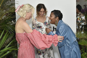 Margot, Cleo Wade and Amber Venerable attend the International Fund for Animal Welfare's (ifaw) 50th anniversary celebration event on May 8, 2019, at the New Museum in New York City.