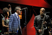 Troy Roberts and Esperanza Spalding Photos Photo