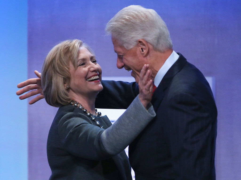the views of bill clinton on giving up the clinton global initiative and the potential presidency of President bill clinton: he's been incredibly active since he left the presidency in their search for how, clinton global initiative.