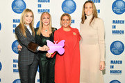 (L-R) UN Women for Peace Association Board member Michal Grayevsky, UN Women for Peace Association President Barbara Winston, The First Lady of Panama Lorena Castillo De Varela and Stephanie Winston Wolkoff attend International Women's Day United Nations Awards Luncheon on March 8, 2018 in New York City.