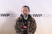 Takashi Murakami attends the International Woolmark Prize 2020 during London Fashion Week February 2020 at Ambika P3 on February 17, 2020 in London, England.