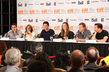 """Oly Obst """"Invention Of Lying"""" Press Conference - TIFF 2009"""