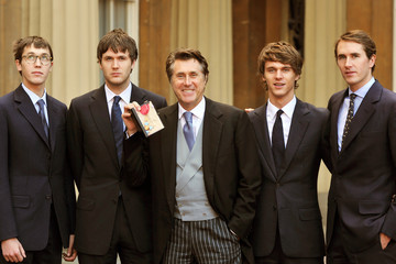 Bryan Ferry Isaac Ferry Investiture Ceremony At Buckingham Palace