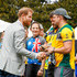 Prince Harry Photos - Prince Harry, Duke of Sussex shaking hands ith the Australian team during day two of the Invictus Games Sydney 2018 at Sydney Olympic Park on October 21, 2018 in Sydney, Australia. - Invictus Games Sydney 2018 - Day 2