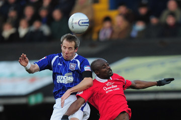 George Boateng Ipswich Town v Nottingham Forest - npower Championship