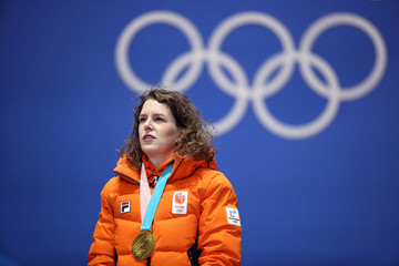 Ireen Wust Medal Ceremony - Winter Olympics Day 4