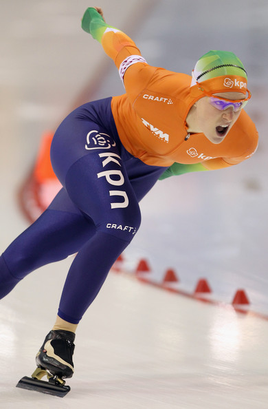 Ireen Wust Ireen Wust of The Netherlands skates to second place in the ...