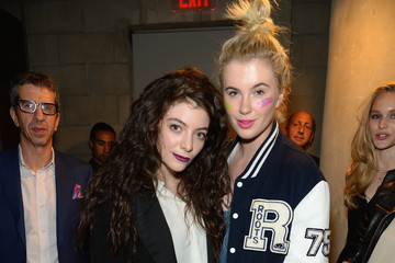 Ireland Baldwin MAC Cosmetics and Lorde Launch New Collection
