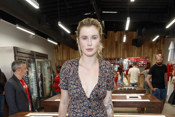 Ireland Baldwin MedMen Celebrates The Opening Of The Abbot Kinney Store With A Ribbon Cutting Ceremony Featuring Congressman Ted Lieu And Senator Ben Allen