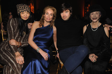 Irina Pantaeva Front Row at the Kithe Brewster Show
