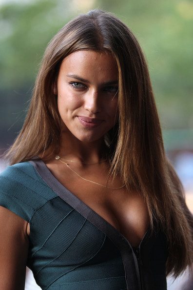 "Irina Shayk Irina Shayk attends the Cinema Society & 2(x)ist screening of ""Twelve"" at Landmark's Sunshine Cinema on July 28, 2010 in New York City."