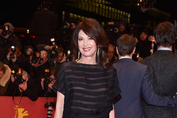 Iris Berben L'Oreal At 'Django' Premiere - 67th Berlinale International Film Festival